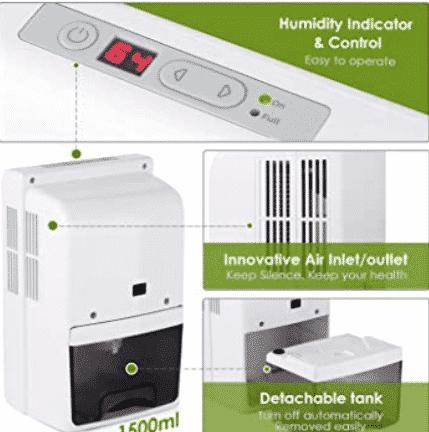 absorbeur d'humidité maison